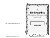 Kindergarten Reading Response Journal