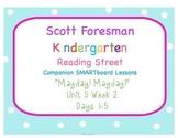 Kindergarten Reading Street SMARTboard Companion- Unit 5 W
