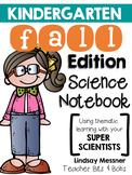 Kindergarten Science Notebook {Fall Edition}