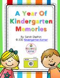 Kindergarten Scrapbook/Memory Book