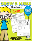 Kindergarten: Show and Make Math Numbers 1-10 Supports Com