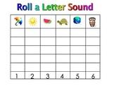 Kindergarten SmartBoard Dice Games: Learn Literacy Skills
