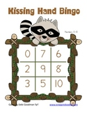 Kissing Hand Number and Number Word Bingo