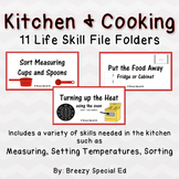 Kitchen / Cooking Life Skill File Folders (Special Education)