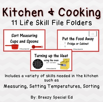 https://www.teacherspayteachers.com/Product/Kitchen-Cooking-Life-Skill-File-Folders-Special-Education-1827166