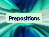 ELA PREPOSITIONS Objects of & Prepositional Phrases PowerP