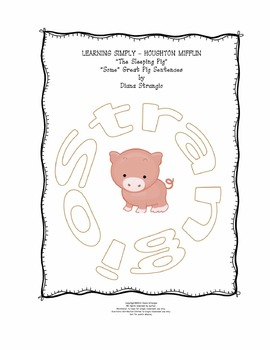 LEARNING SIMPLY - HOUGHTON MIFFLIN - The Sleeping Pig Theme 6
