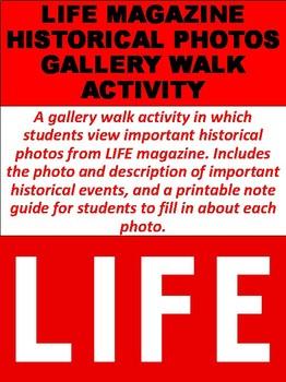LIFE Magazine Historical Photos Gallery Walk