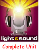 LIGHT AND SOUND COMPLETE UNIT