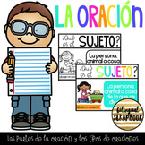 La oracion (Parts of a sentence and types of sentences in