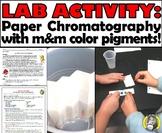 Lab Activity: Paper Chromatography w/ m&m candy!