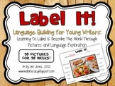 {Label It!} Language & Vocabulary Building Activities for