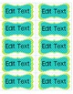 Labels for Classroom Organization {EDITABLE}