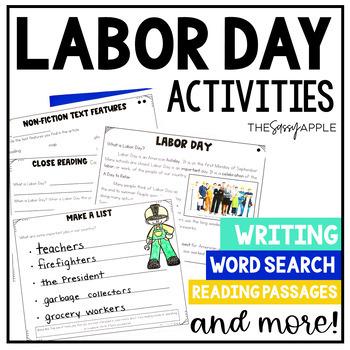 Labor Day: A Close Reading Freebie