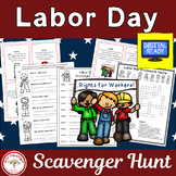 Labor Day Scavenger Hunt