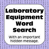 Laboratory Equipment: Word Search