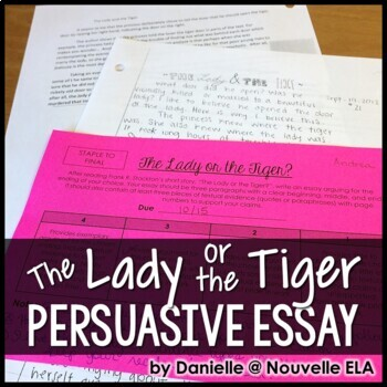 The Lady or the Tiger?: And, the Discourager of Hesitancy by Frank