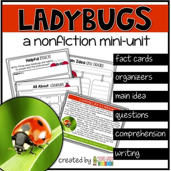 Ladybugs ~ a nonfiction mini-unit