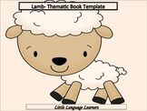 Lamb-Thematic Writing Book Templates
