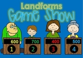 Landform GAME SHOW with contestants- 50 questions - 2nd-5t
