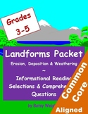 Landforms Informational Reading Selections and Questions f