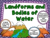 Landforms and Bodies of Water- flip flaps,posters,and more