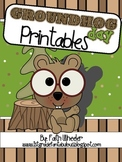 Language Arts - Groundhog Day Printables