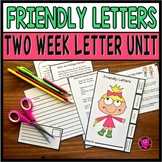 Friendly Letter Writing and SEQUENCING for Language Arts I