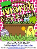 Language Arts - March Book Reports Freebie