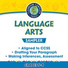 Language Arts Sampler Gr. 5-8 - Common Core Aligned