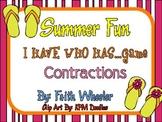 Language Arts - Summer Fun Flip Flop Contractions