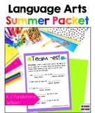 Language Arts Summer Packet