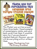 Thanksgiving Writing and Language Arts Pack