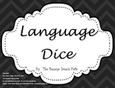 Language Dice: Black & White Language Games