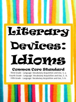 Language: Idioms for Common Core Teaching