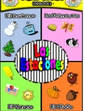 Las Estaciones (Seasons) Spanish Lapbook File Folder Fun