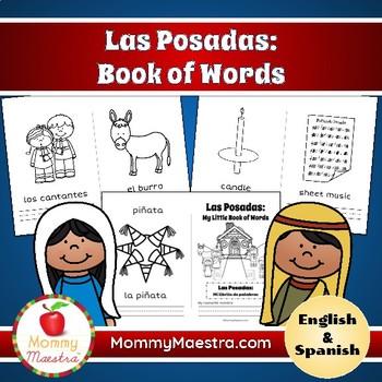 Las Posadas Bilingual Minibooks of Words