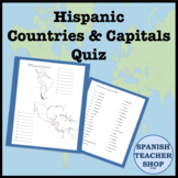 Latin America: Central and South America Country Capital Quiz