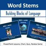Latin & Greek Word Stems Unit