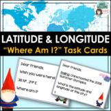 Latitude and Longitude Task Cards