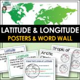 Latitude & Longitude Posters
