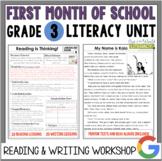 Launching the Reader's & Writer's Workshops: Grade 3...40