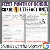 Launching the Reader's & Writer's Workshops: Grade 4...40