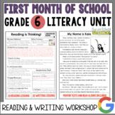 Launching the Reader's & Writer's Workshops: Grade 6...40