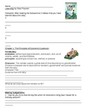 Lawn Boy Guided Reading Comprehension Packet
