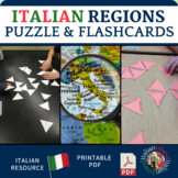 Le Regioni ed i Capoluoghi - Regions and Capitals of Italy