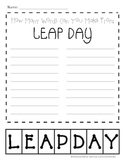 Leap Day Making Words