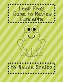 Leap Frog Review Game