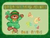 Leapin' Leprechaun Alphabet Match
