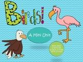 Learn About Birds {A Mini Non-Fiction Unit}